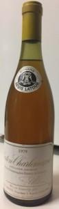 Louis Latour Corton Charlemagne 1979