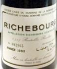 Richebourg Etikett