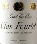Clos Fourtet Etikett