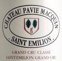 Pavie Macquin Etikett