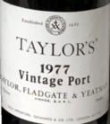 Taylors 1977 Etikett