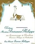 Mouton Baronne Etikett