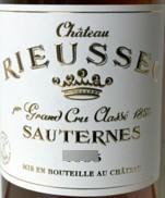 Rieussec Etikett